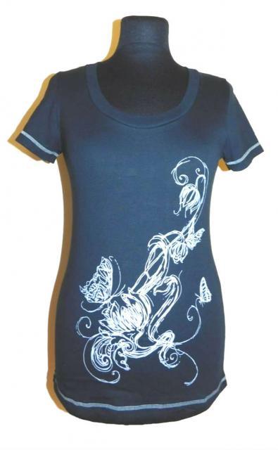 Dámské tričko Romana - černá