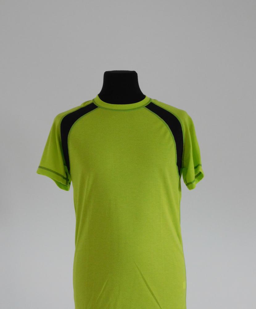 Pánské tričko krátký rukáv - světle zelená