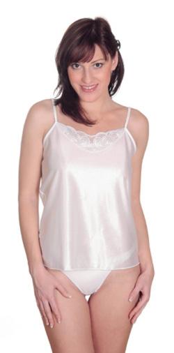 Dámská košilka Saxa - bílá