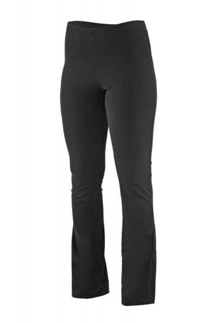Dámské kalhoty Hanka - prodloužené - černá