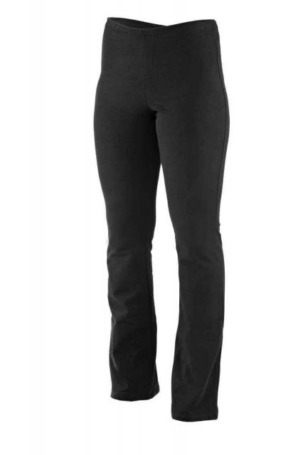 Dámské kalhoty Hanča - prodloužené - černá