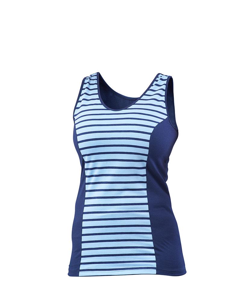 Dámské tričko Darja - modrý proužek