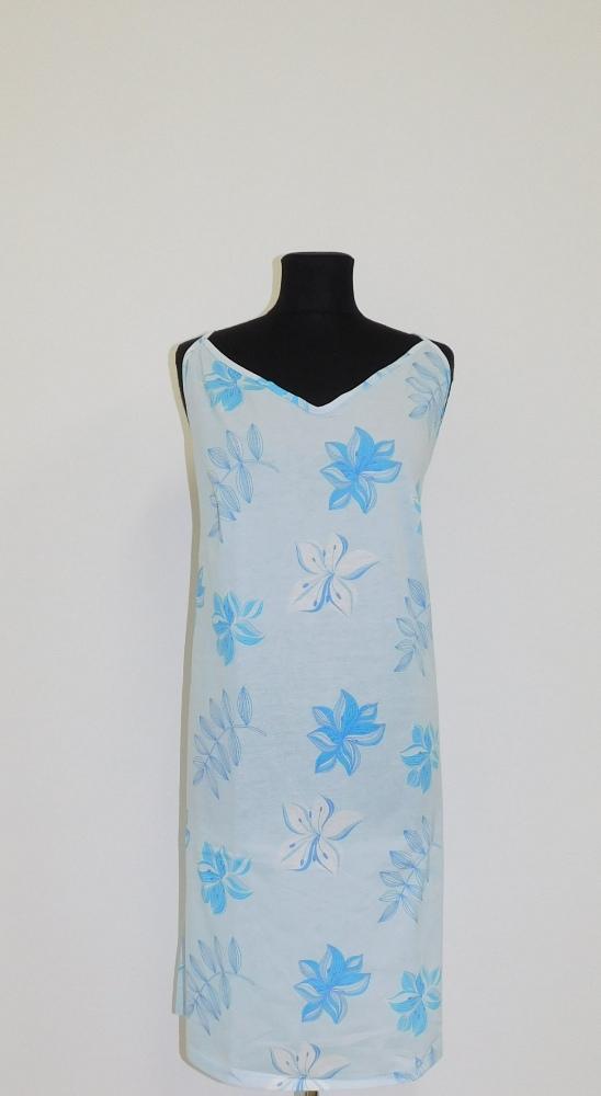 Dámská noční košile Juka - modrá lilie