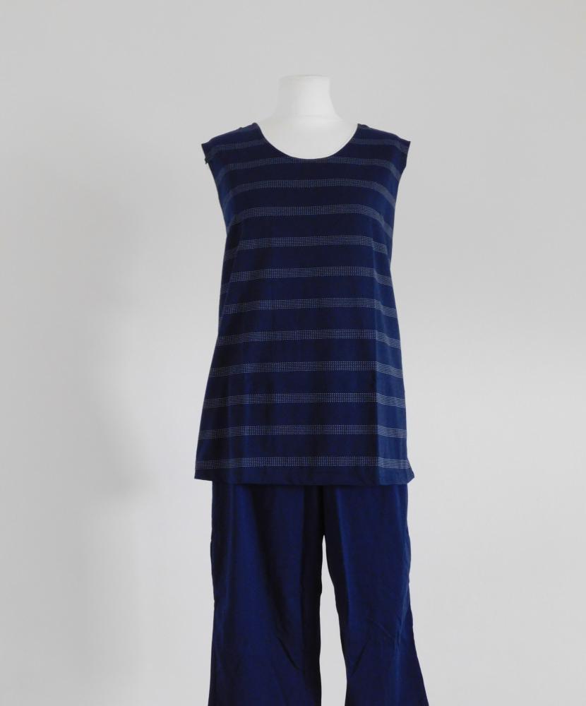 Dámský domácí oblek Lada - tmavě modrá