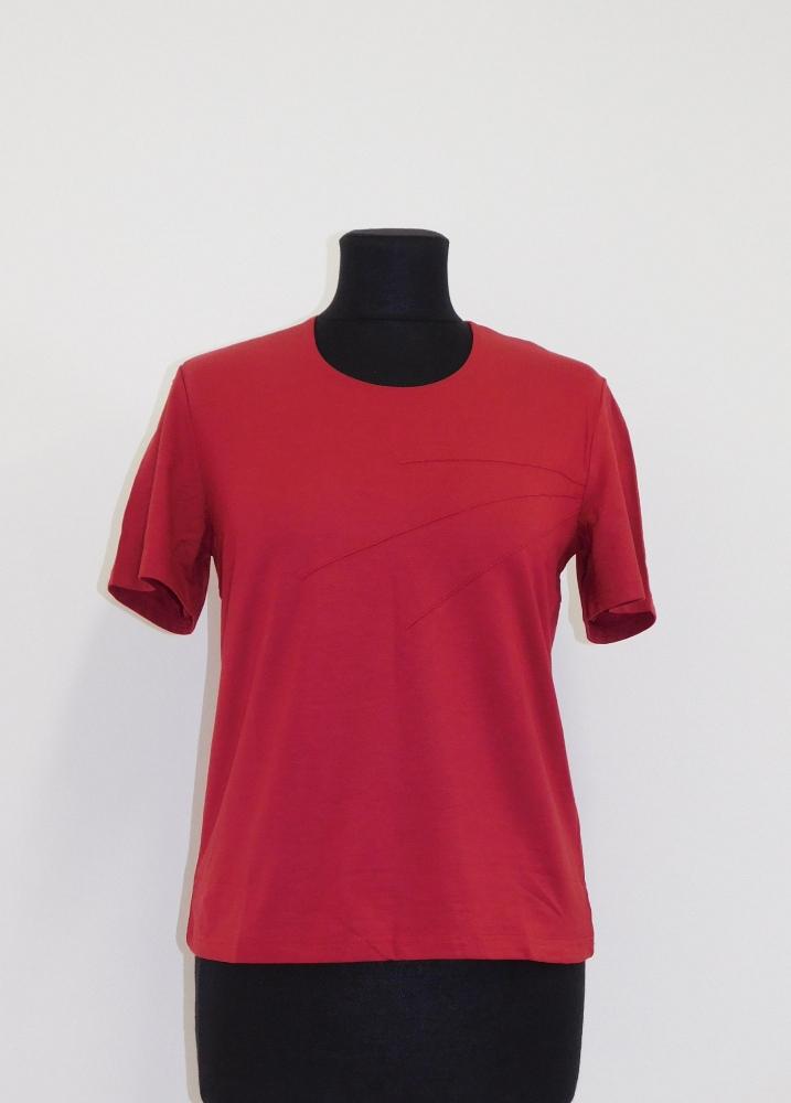 Dámské tričko Laris - vínová