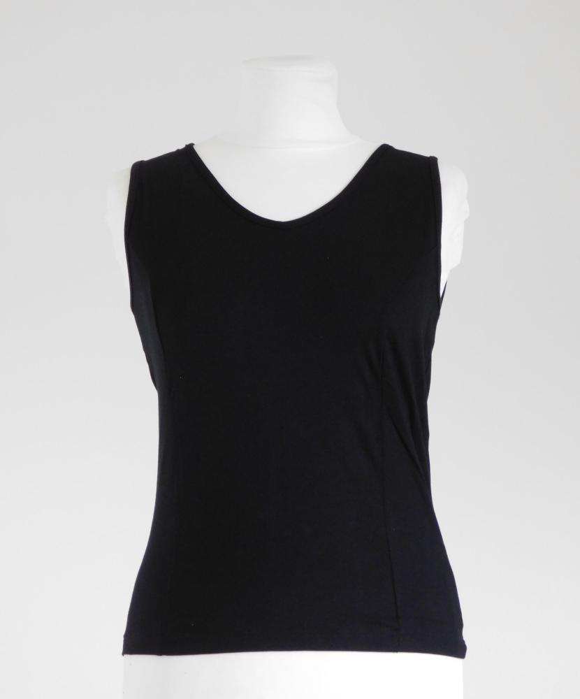 Dámská košilka Nisa - černá