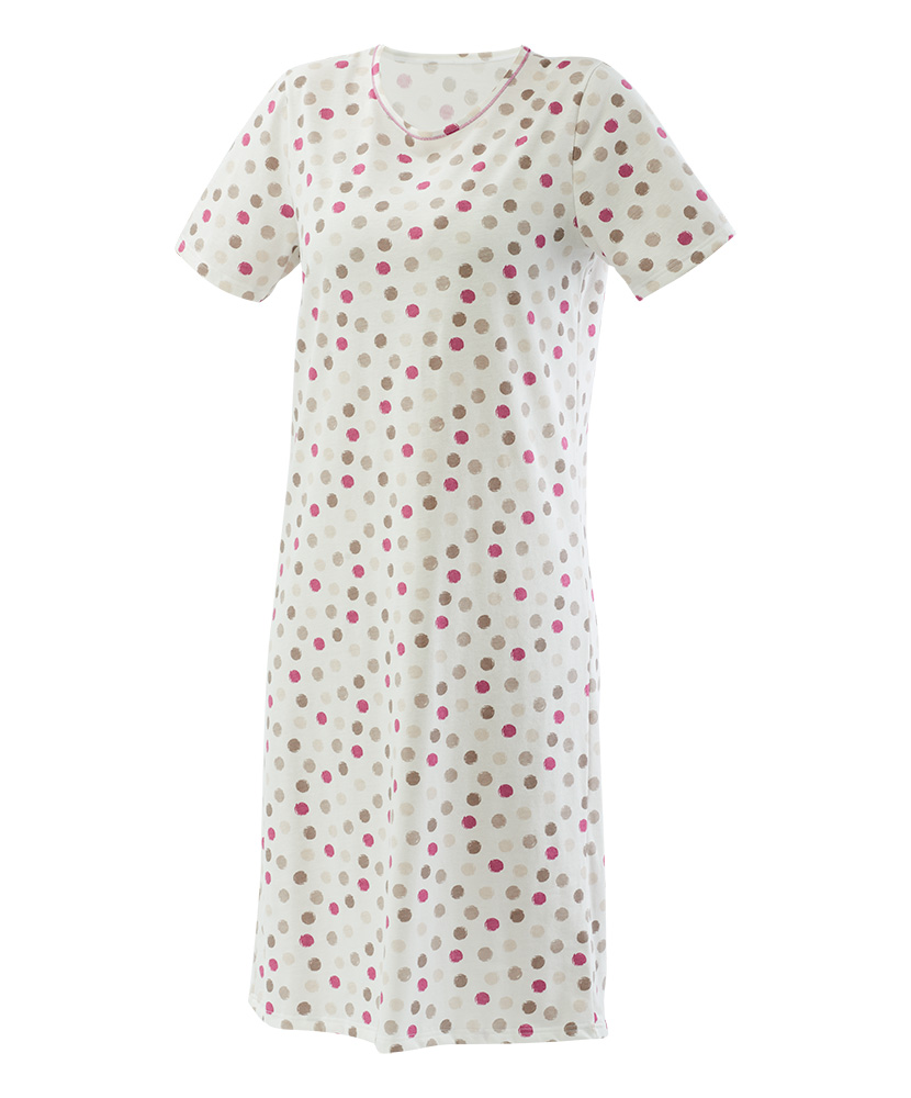 Dámská noční košile Iva - puntík