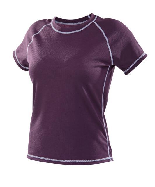 Dámské tričko krátký rukáv Coolbest - fialová