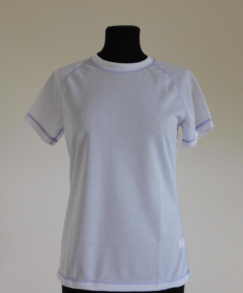 Dámské tričko krátký rukáv Coolbest - bílá