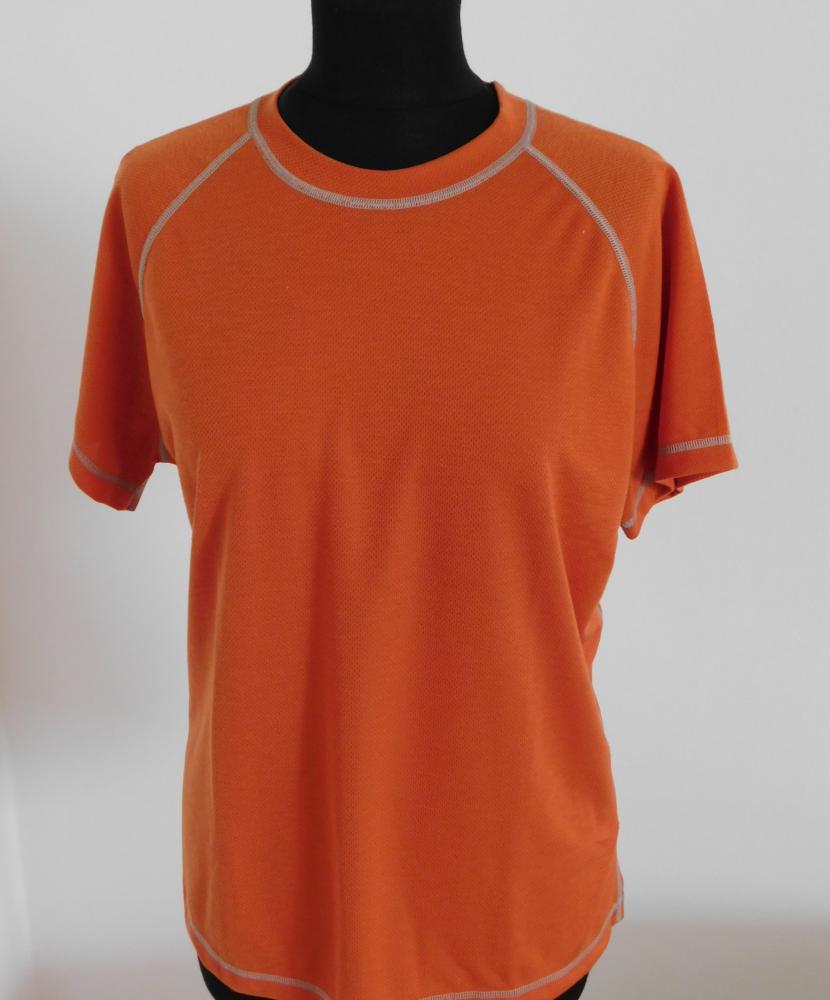 Dámské tričko krátký rukáv Coolbest - cihlová