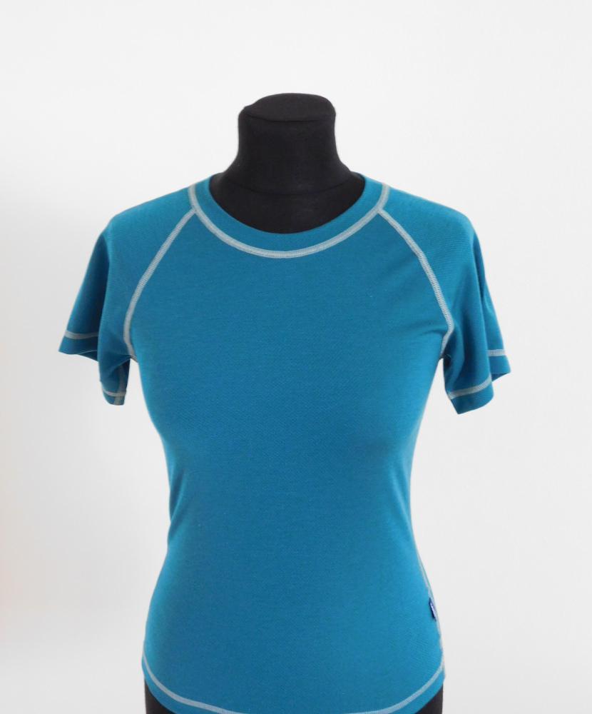 Dámské tričko krátký rukáv Coolbest - tmavě zelená