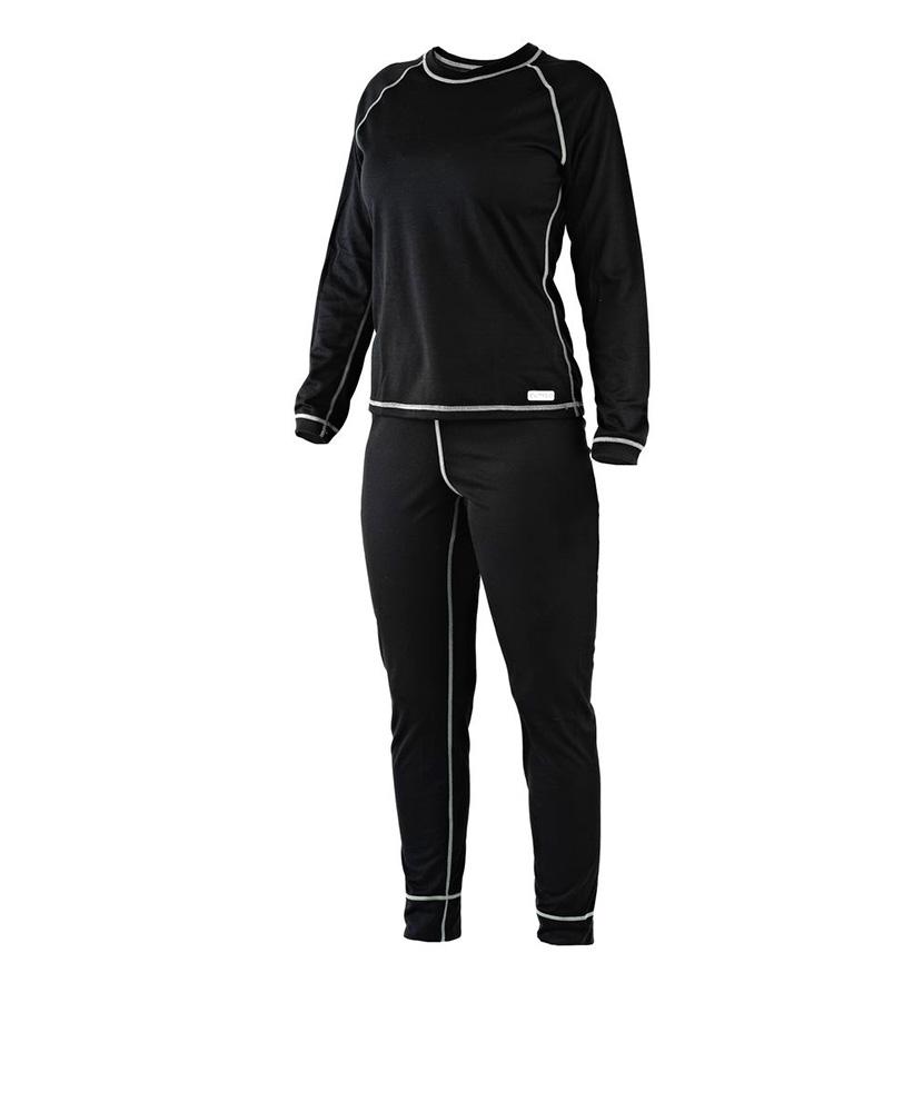 Dámské tričko dlouhý rukáv Coolbest - černá