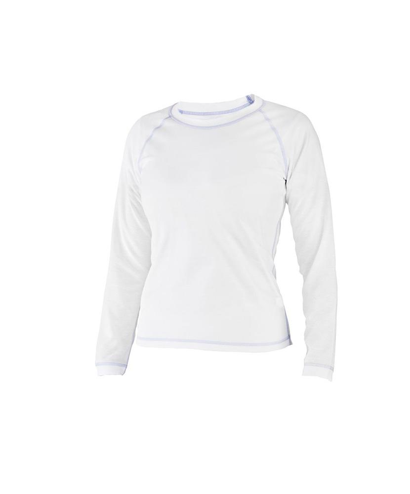 Dámské tričko dlouhý rukáv Coolbest - bílá