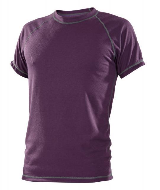 Pánské tričko krátký rukáv Coolbest - fialová