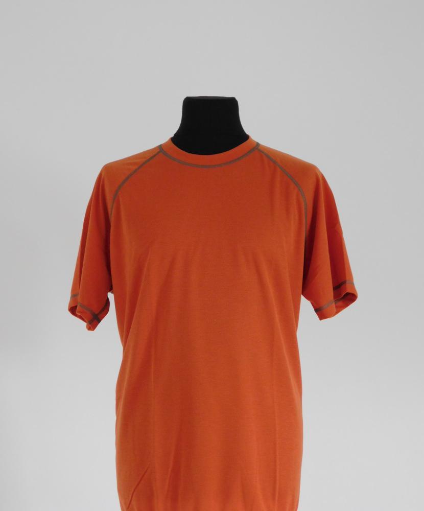 Pánské tričko krátký rukáv Coolbest - cihlová