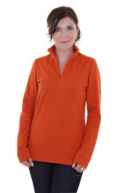 Dámská mikina - oranžová
