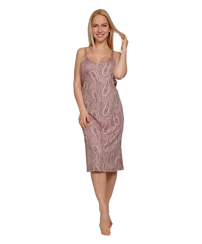 Dámské šaty Mahulena - vzor na lososové