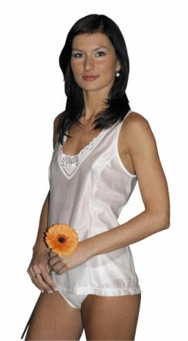 Dámská košilka Stela - bílá