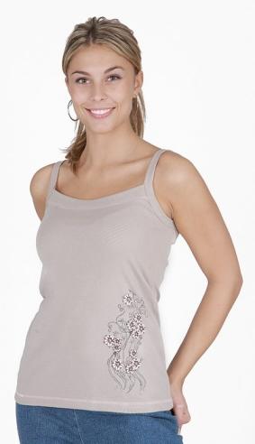 Dámské tričko Irma - béžová