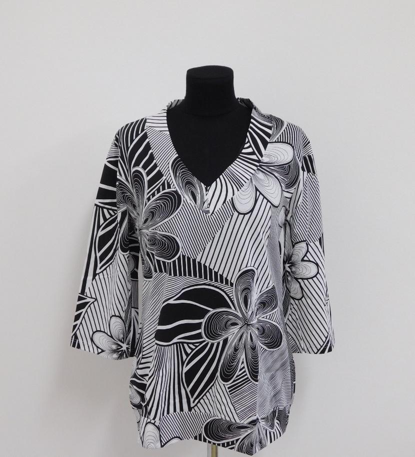 Halena Sisa - černobílý vzor