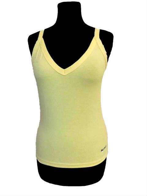 Dámské tričko Pety - žlutá