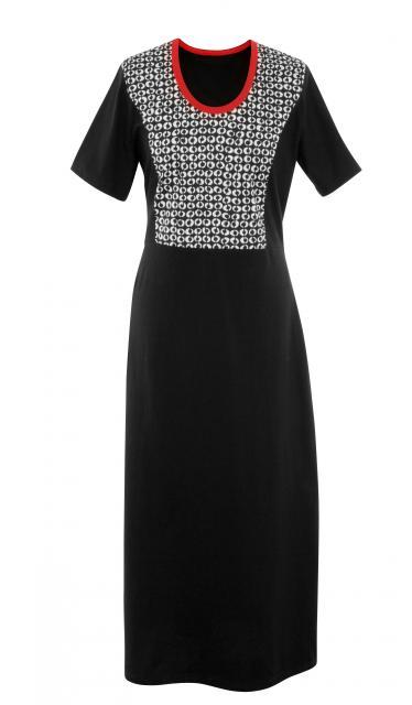 Dámské šaty Aneta - černobílá