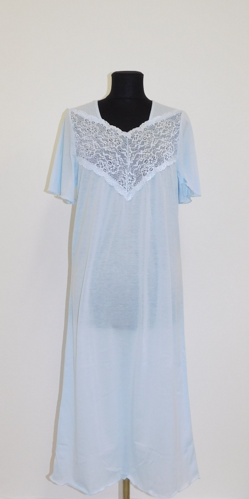 Dámská noční košile Svatava - světle modrá