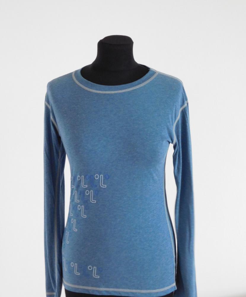 Dámské tričko dlouhý rukáv Freshguard - modrá