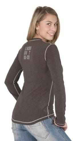 Dámské tričko dlouhý rukáv Freshguard - šedá