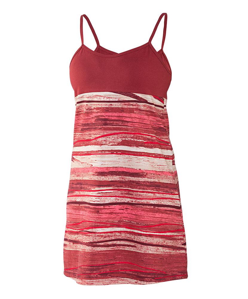 Dámské šaty Janča - vínový dekor