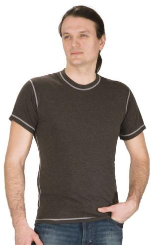 Pánské tričko krátký rukáv Freshguard - šedé melé