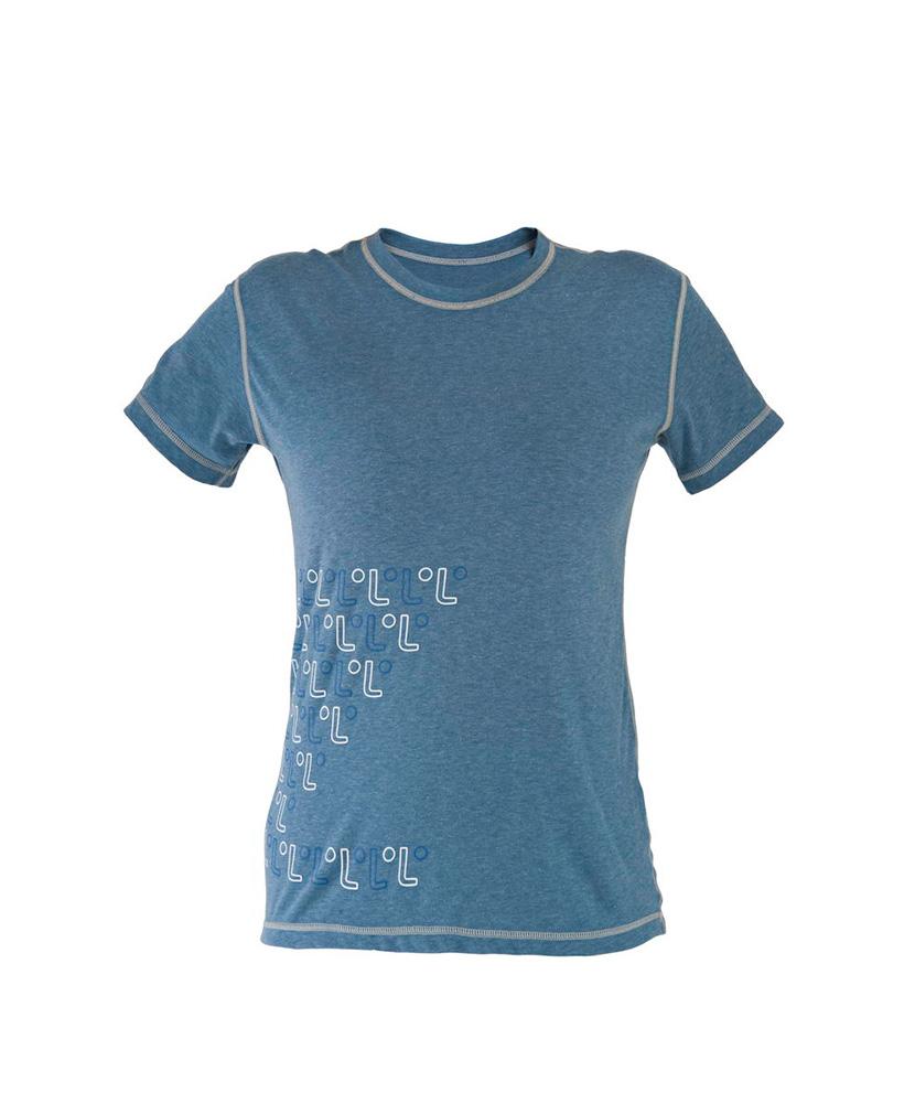 Dámské tričko krátký rukáv Freshguard - modrá