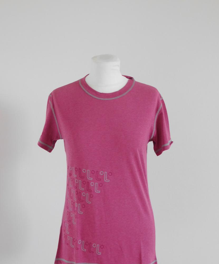 Dámské tričko krátký rukáv Freshguard - vínová