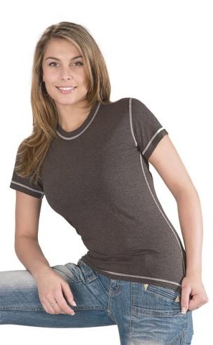 Dámské tričko krátký rukáv Freshguard - šedé melé