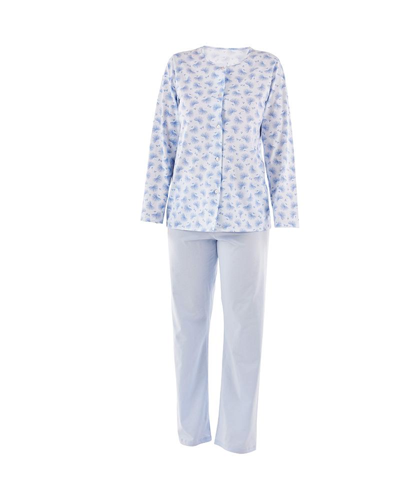 Dámské pyžamo Agáta - modrá pampeliška