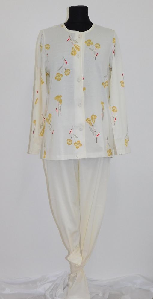 Dámské pyžamo Ara - žlutá kala