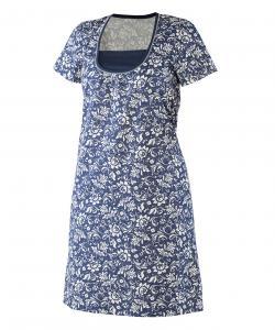 Dámská noční košile Pavla K tmavě modrý květ