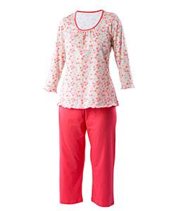 Dámské pyžamo Danuše barevná kytka