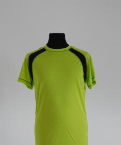 Pánské tričko krátký rukáv světle zelená