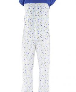 Dámské pyžamo Miluše modrý korálek