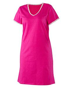 Dámská noční košile Dianka sytě růžová