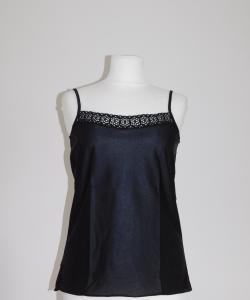 Dámská spodní košilka Běla černá