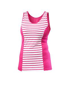 Dámské tričko Darja růžový proužek
