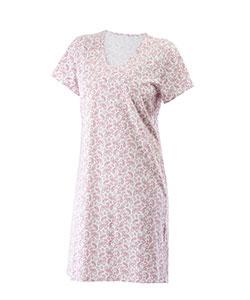 Dámská noční košile Lara růžový dekor
