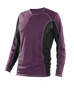 Pánské triko dlouhý rukáv fialová