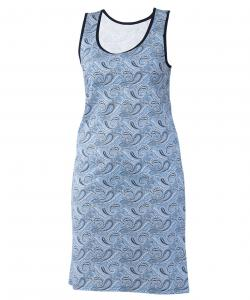 Dámské šaty Alžběta modrý kašmír