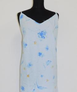 Dámská noční košile Juka modrožlutý květ