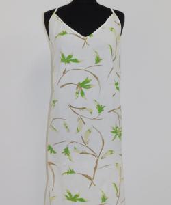 Dámská noční košile Juka zelený květ