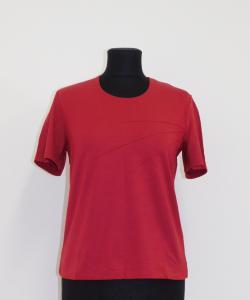 Dámské tričko Laris vínová