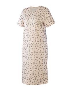 Dámská noční košile Iva meruňka - kola